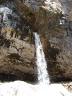Waterfall above Hanging Lake