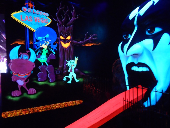 KISS, by Monster Mini Golf