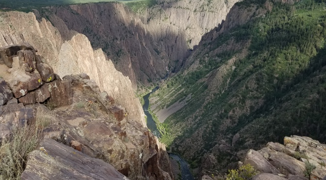 A Side Trip To The Black Canyon Of The Gunnison