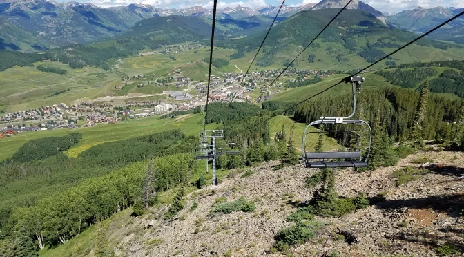 A Beautiful View Of Crested Butte
