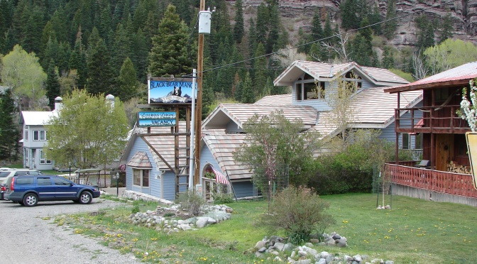 The Black Bear Manor In Ouray