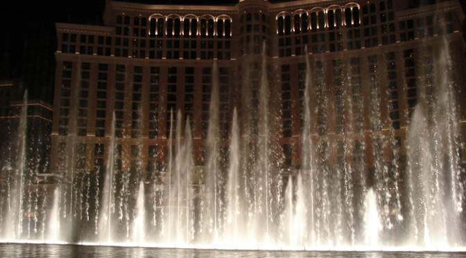 Check Out The Bellagio Fountains