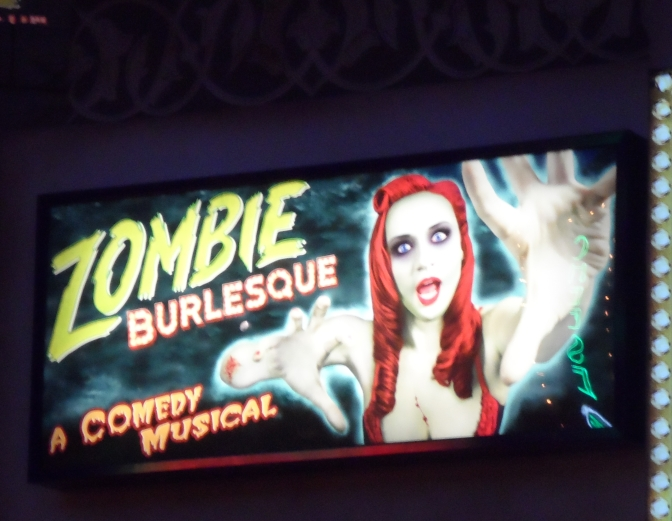 Let's All Go To Zombie Burlesque