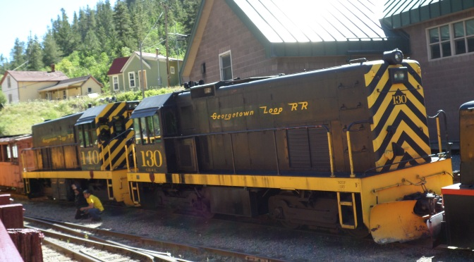 The Georgetown Loop Railroad And Lebanon Silver Mine Tour