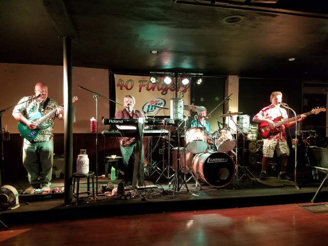Check Out The 40 Fingers Band of Eau Claire, Wisconsin
