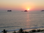 Sunset in Ixtapa