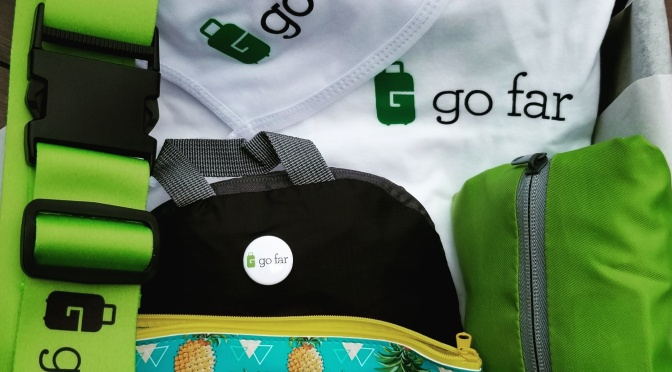 GO FAR – A SUBSCRIPTION BOX FOR PEOPLE WHO LOVE TRAVEL