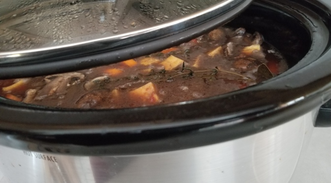 Foodie Friday: Slow Cooker Beef Bourguignon